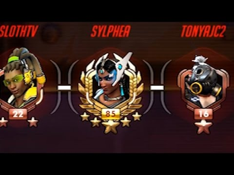 Highest Level Player in ALL of Overwatch (Lvl 3000+) - Playing Against Sylphea