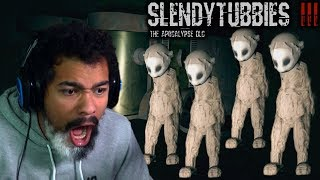 THERE'S AN ARMY OF THEM!! | Slendytubbies 3: Apocalypse DLC [ALL ENDINGS]