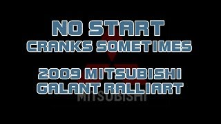2009 Mitsubishi Galant Ralliart Videos