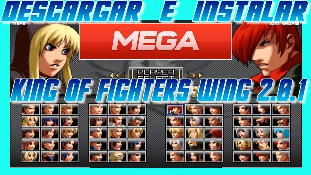 descargar king of fighters wing 201 mega youtube