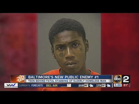 Baltimore Police announced Public Enemy No. 1