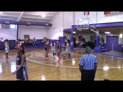 Arkansas Baptist College Lady Buffaloes vs Baton Rouge College Part 1