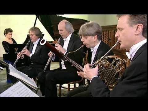 Beethoven Quintet Opus 16 Würtz, De Graaf, Meyer, Gaasterland, & Van de Merwe