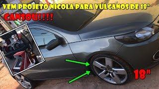 """NOVO PROJETO PARA GOL G5 - Caixa Nicola Vulcanos 3.8 18""""  (( SEM ENCOSTO ))"""
