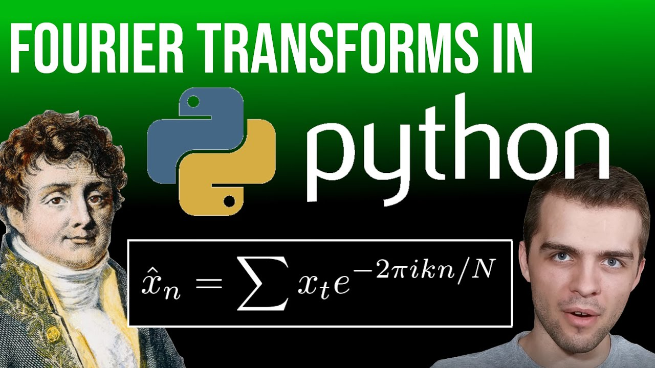Top 3 Most Important Fourier Transforms in Python