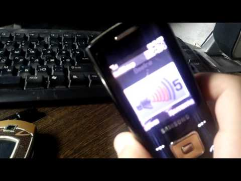 Samsung tune on samsung sgh-e900
