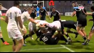 Nouvelle Zélande - Angleterre RWC Junior 2013