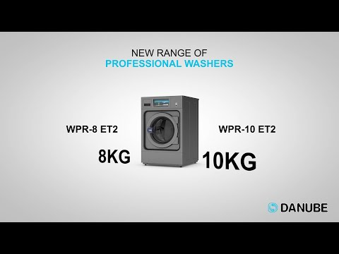 Danube presents its new 8 and 10 kg washers