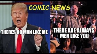 Donald Trump VS Avengers? Deadpool the duck? Comic News 1 feat.Nerdtastisch & Comic Freak
