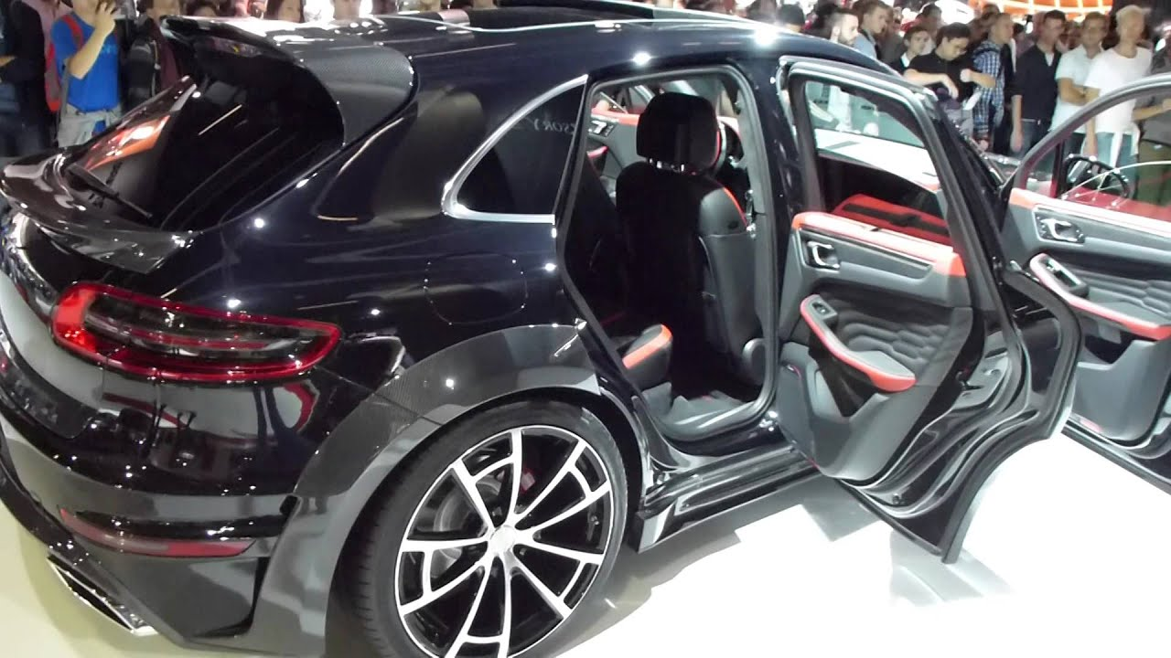 2015 iaa porsche macan by mansory 464 hp 274 km h 170 mph playlist youtube. Black Bedroom Furniture Sets. Home Design Ideas