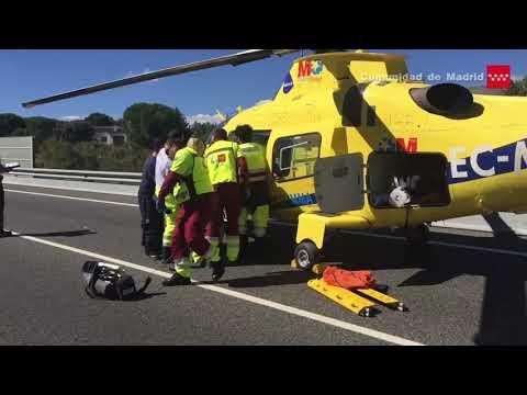 2.10.17. Accidente de tráfico M-501, km. 52 (Pelayos de la Presa). Un fallecido, un herido grave.