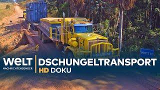 Schwertransport im brasilianischen Dschungel | HD Doku