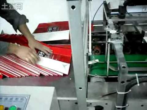 Maquina para fabricar bolsa de papel