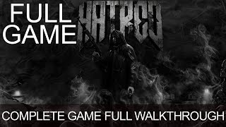 Hatred All Levels Full Game Walkthrough Longplay Complete Game