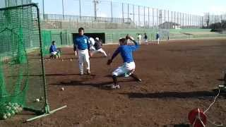 NAGOYA23通常練習 (2011年1月25日) IN津島市営球場