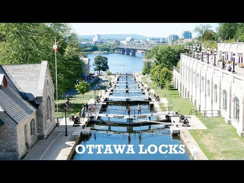 Ottawa Locks on Rideau Canal