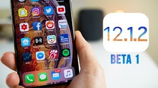 iOS 12.1.2 Beta 1 Released - What