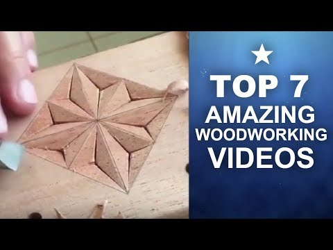 ★TOP 7 AMAZING WOODWORKING VIDEOS PROJECTS AND PLANS FOR BEGINNERS WOODWORKING TOOLS #8