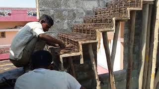 How to make chain stairs for duplex house