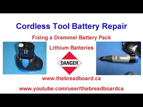 Power Tool Lithium Battery Repair