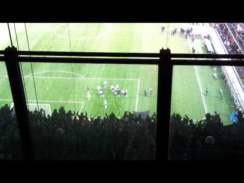 Milan Juventus 1 - 2 settore ospiti