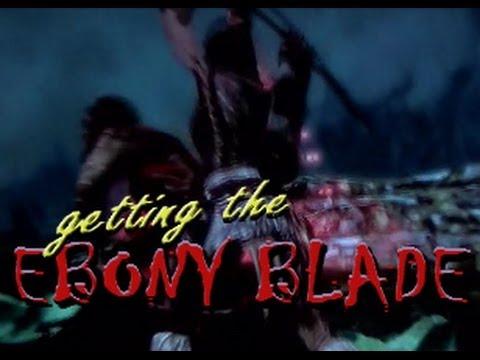 SKYRIM EBONY BLADE - 'THE WHISPERING DOOR