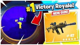 USING THE NEW THERMAL GUN IN FORTNITE *FOR THE 1ST TIME*