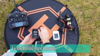Eachine ROTG02 review: Unboxing and FPV test