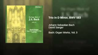 Trio in D Minor, BWV 583