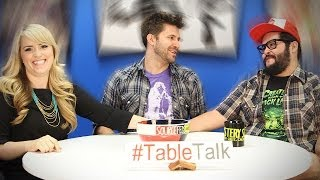 Fistfights, Affleck, and Getting Sick on #TableTalk!