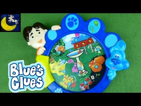 Blue's Clues Hide and Seek Garden Game Toys with Joe ...