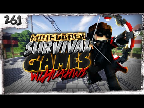 Minecraft Survival Games w/ Huahwi #261: So.. You Wanted Facecam?