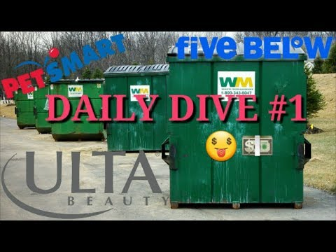 DAILY DIVING VLOG #1 (Huge Haul! Ulta, Five Below, PetSmart and MORE!)