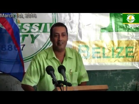 Belize Progressive Party Press Conference March 1, 2016