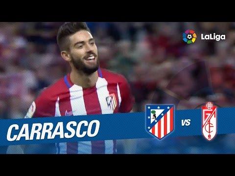 Carrasco firma el primer hat-trick de su carrera