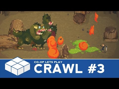 Crawl - 3 Player Co-Op/Versus Gameplay
