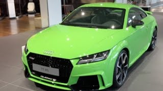2017 Lime Green Audi TT RS at Neckarsulm Audi Forum(Enjoy, and don't forget, subscribe to my channel for more videos ! Thanks for watching., 2016-06-20T05:00:01.000Z)
