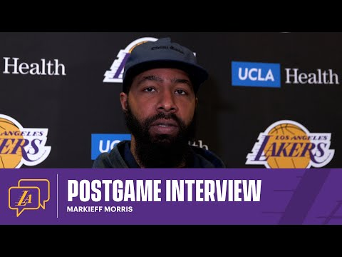 Lakers Postgame: Markieff Morris (4/12/21)