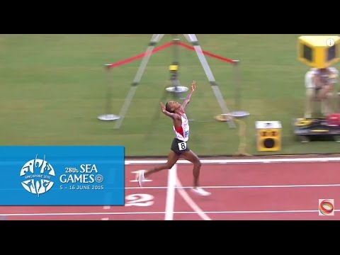 Athletics Men's 10000m Final (Day 5) | 28th SEA Games Singapore 2015