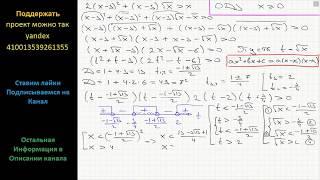 Математика Решите неравенство 2(x-3)^2+(x-3)(x)^(1/2) больше x
