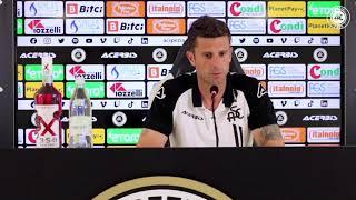 Serie A '21/'22   LE PAROLE DI MISTER THIAGO MOTTA ALLA VIGILIA DI SPEZIA - SALERNITANA