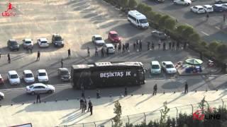 Beşiktaş Fenerbahçe derbisi ve takımların olimpiyat stadına gelişi CANLI yayın