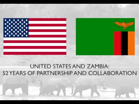 United States-Zambia 52 Years of Partnership & Collaboration