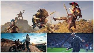 Карта Assassin's Creed Odyssey оказалась обманчиво мала | Игровые новости