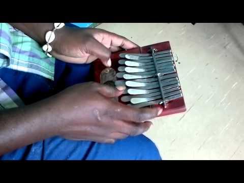 Demonstration Medium Kalimba Red in G - DIngiswayo Juma