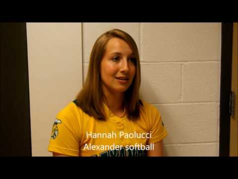 BDN Athlete of the Week, Hannah Paolucci