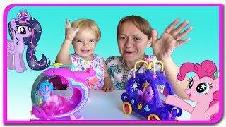 MLP Elicopterul lui Pinkie Pie si trasura lui Princess Twilight  Micul meu ponei la Anabella Show