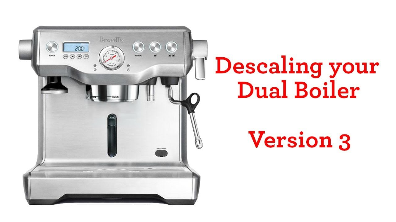 Descaling The Dual Boiler V2 Youtube