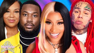 Nicki Minaj and Tekashi TROLL Meek Mill, Lisa Raye, & Usher | Nicki and Tekashi speak on snitching