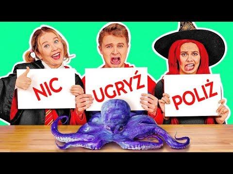 UGRYŹ, POLIŻ LUB ZOSTAW || Halloweenowy Test Smaków 'Cukierek Albo Psikus' Od 123 GO! CHALLENGE